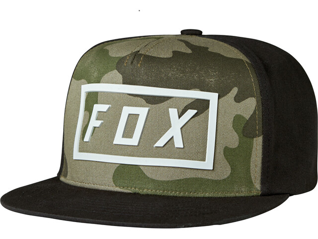 Fox Fumed Hovedbeklædninger Herrer sort/oliven
